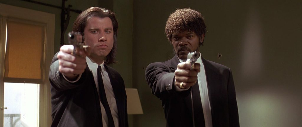 Pulp Fiction has several parallel storylines.