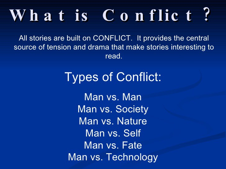 conflict in screenwriting