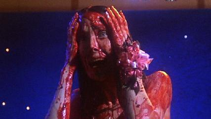 The famous blood scene from Carrie.